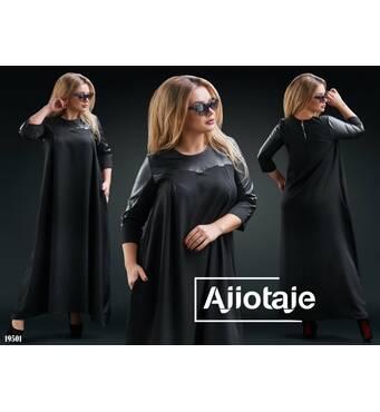 Сукня - 19501 (чорний)