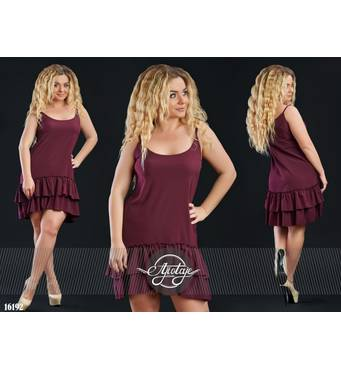 Сукня - 16192 (марсала)