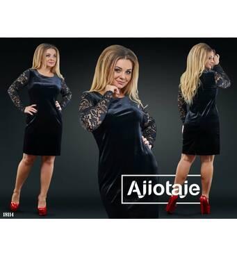 Сукня - 18114 (чорний)