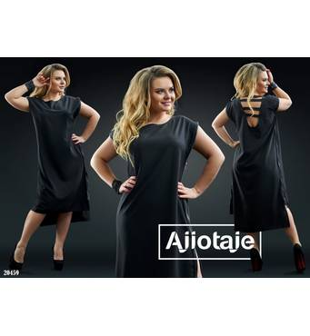 Сукня - 20459 (чорний)