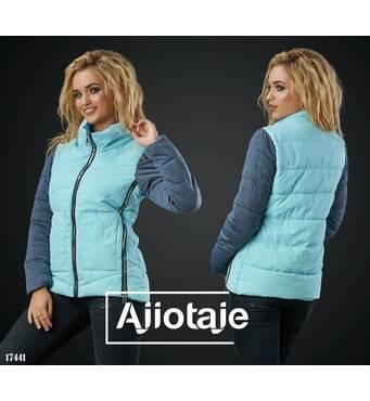 Куртка - 17441 (блакитний)