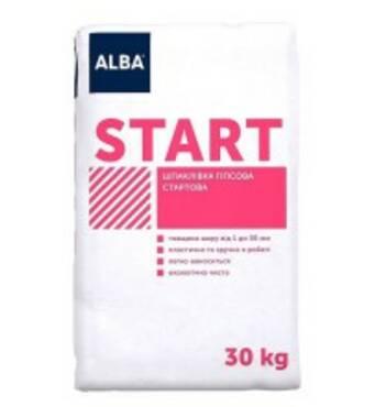 Шпаклівка гіпсова стартова Альба Start 050