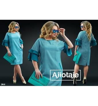 Платье - 20141 (бирюза)