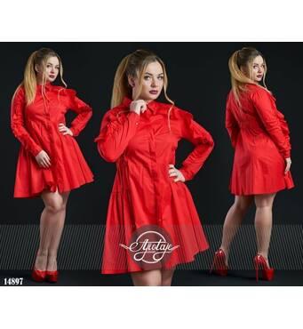 Платье - 14897 (красный)