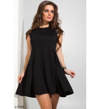 Жіноча сукня 17759 чорний