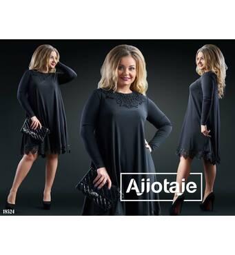 Сукня - 18524 (чорний)