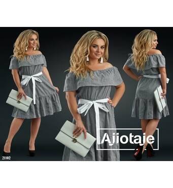 Платье - 21102 (черная)