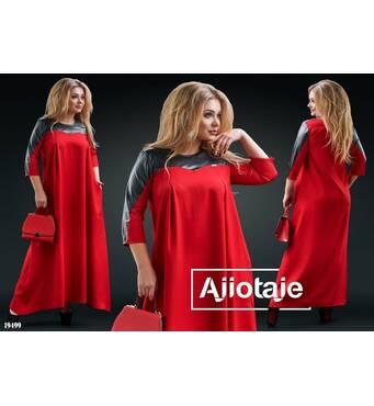 Платье - 19499 (красный)