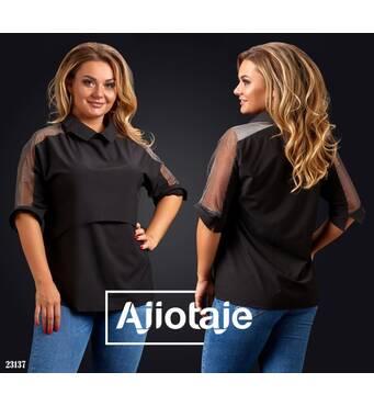 Рубашка - 23137 (черный)