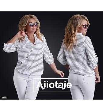 Блуза - 25903 (белый)