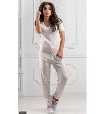 Спортивный костюм 28062-3 розовый Весна 2019 Турция