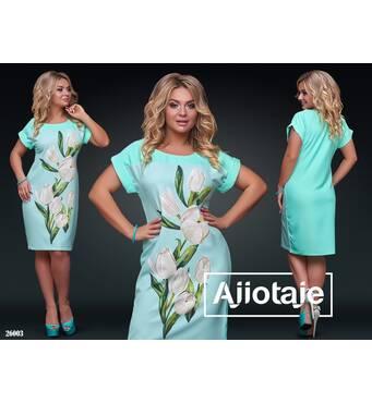 Платье - 26003 (ментол основа)