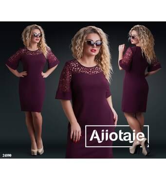 Платье - 24890 (марсала)