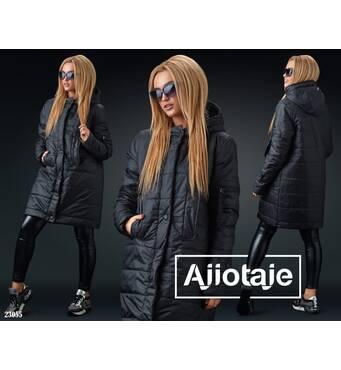 Куртка - 23055 (чорний)