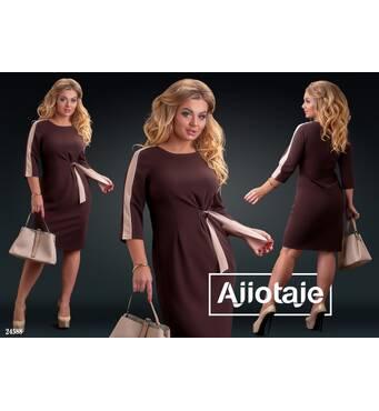 Сукня - 24588 (шоколад)