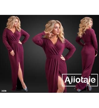 Платье - 24336 (марсала)