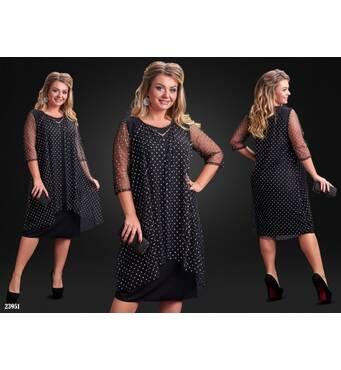 Сукня - 23951 (чорний)