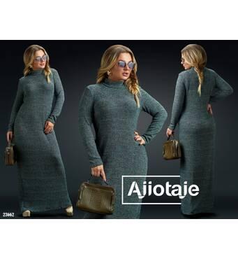 Сукня - 23662 (зелений)