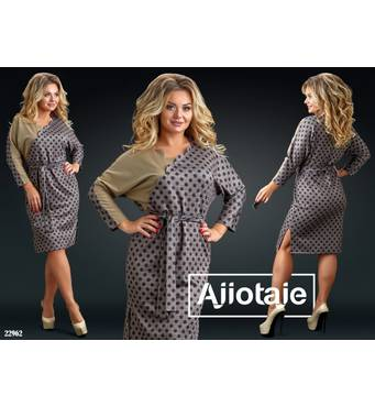 Платье - 22962 (мокко основа)