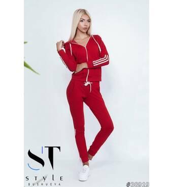 Спортивний костюм 38919 (червоний)