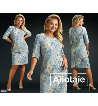 Платье - 22326 (серебро)