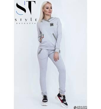 Спортивный костюм 43102 (серый)