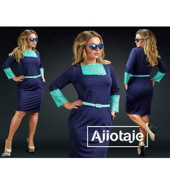 Платье - 23770 (ментол)