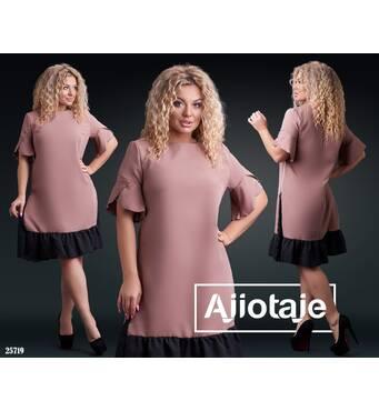 Платье - 25719 (мокко)