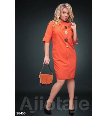 Платье - 26455 (оранжевый)