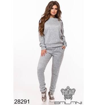 Костюм спортивний   (сірий) - 28291