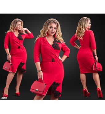 Сукня - 23988 (червоний)