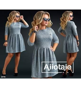 Платье - 22731 (серый)