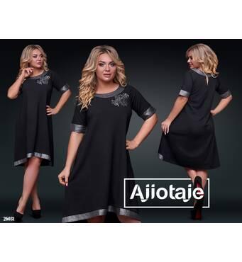 Сукня - 26031 (чорний)