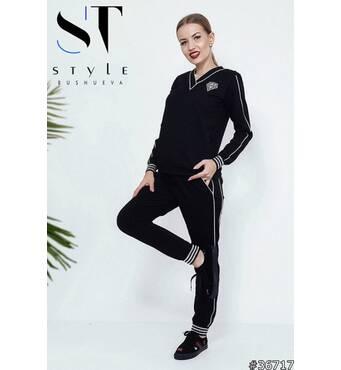 Спортивный костюм 36717 (черный)