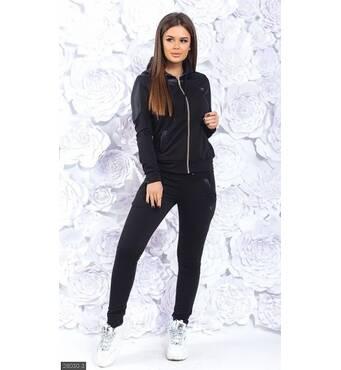 Спортивный костюм 28030-3 черный Зима-Весна 2019 Украина