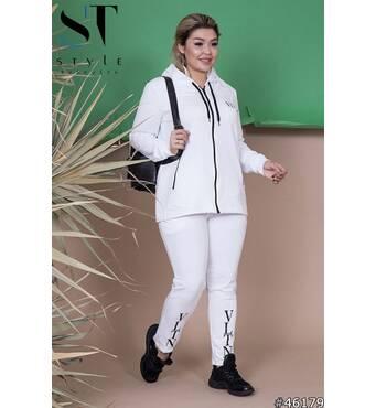 Спортивный костюм 46179 (белый)