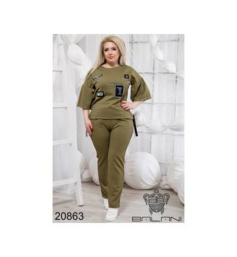 Шикарний прогулочний костюм   (хакки) - 20863