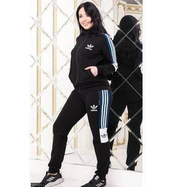 Спортивный костюм 856493-1 черный Весна 2019 Украина