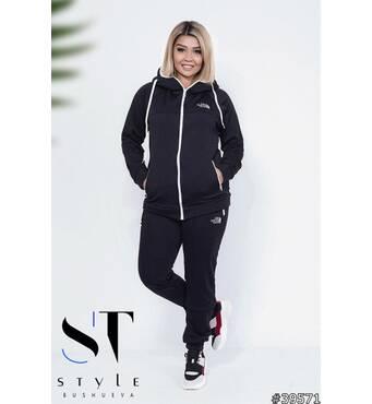 Спортивний костюм 39571 (чорний)