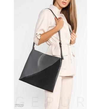 Лаконічна сумка на плече