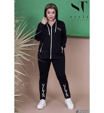 Спортивный костюм 46178 (черный)