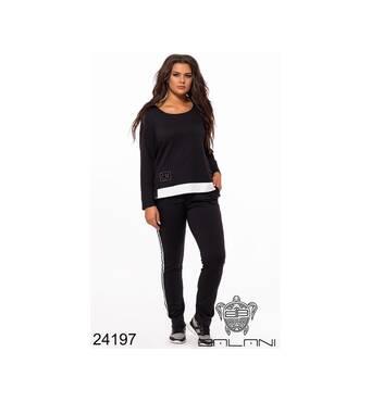 Спортивный костюм (черный) - 24197