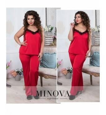 Пижама №830-красный