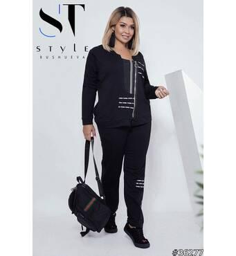 Спортивный костюм 36277 (черный)