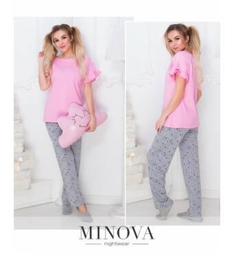 Пижама №905н-розовый
