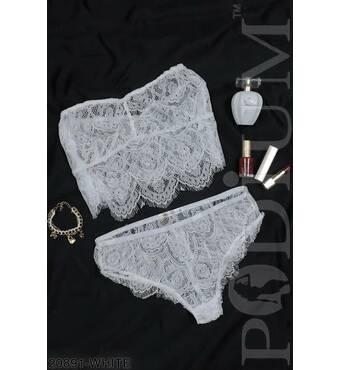 Жіночий комплект нижньої білизни Precious (WHITE)