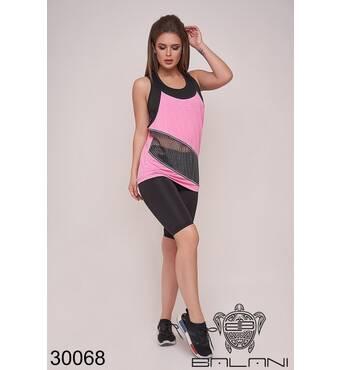 Костюм спортивний трійка   (рожевий) - 30068