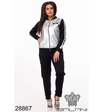 Костюм спортивний трійка   (чорний) - 28867