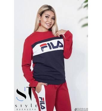 Спортивный костюм 38316 (красный/синий)