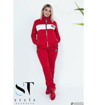 Спортивный костюм 40062 (красный)